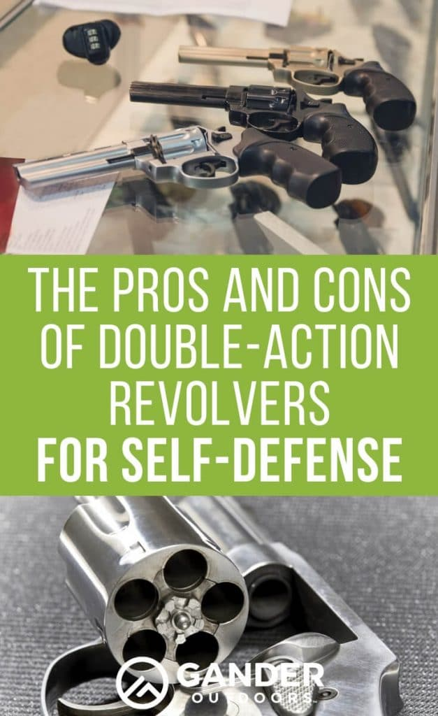 The pros and cons of double action revolvers for self defense