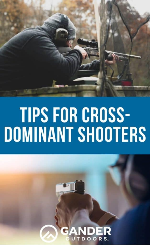 Tips for cross dominant shooters