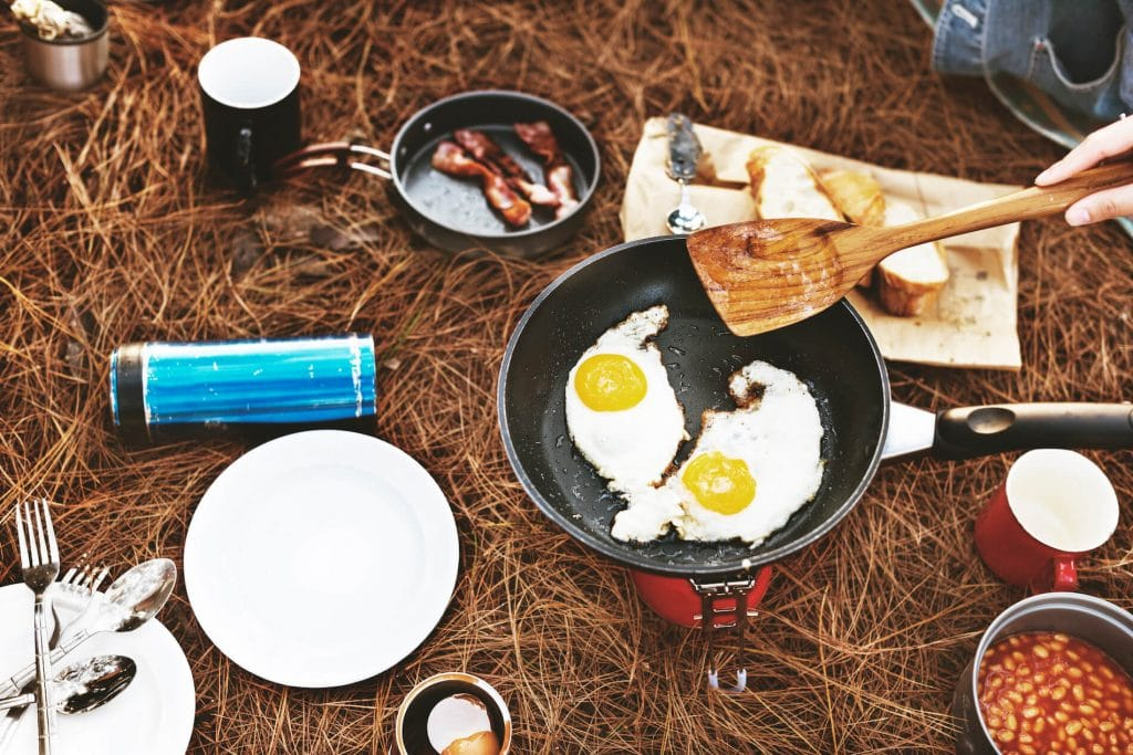 What to eat for car camping