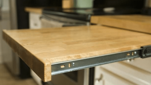 how to add storage space to your rv - slide out surfaces