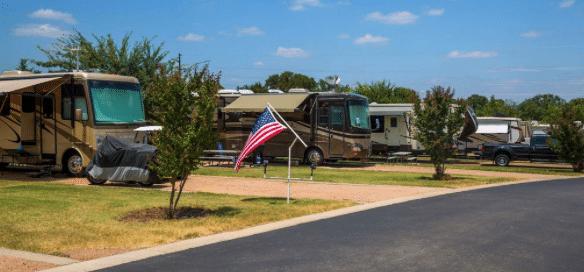 rvers guide to austin texas - la hacienda rv resort