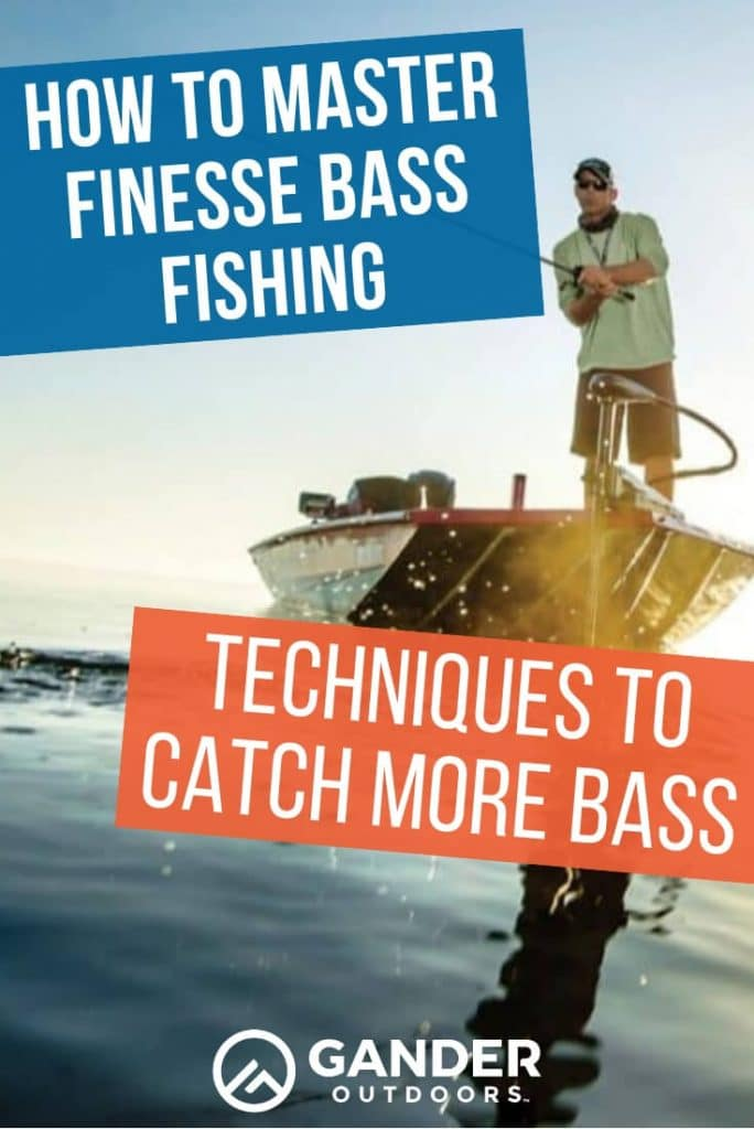 How to master finesse bass fishing - techniques to catch more bass