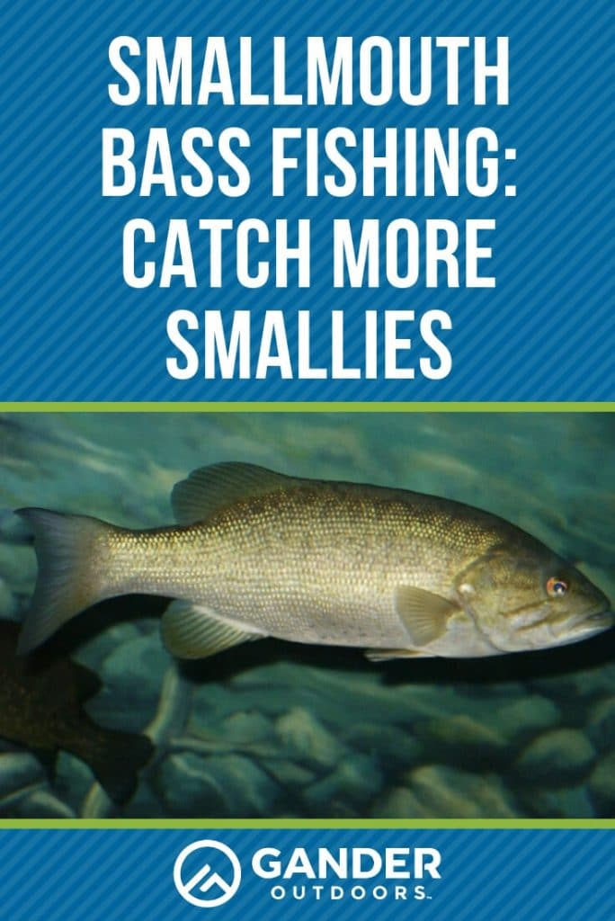 Smallmouth bass fishing - catch more smallies