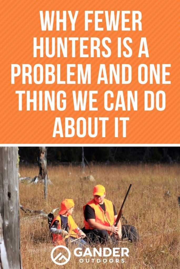 Why fewer hunters is a problem and what we can do about it