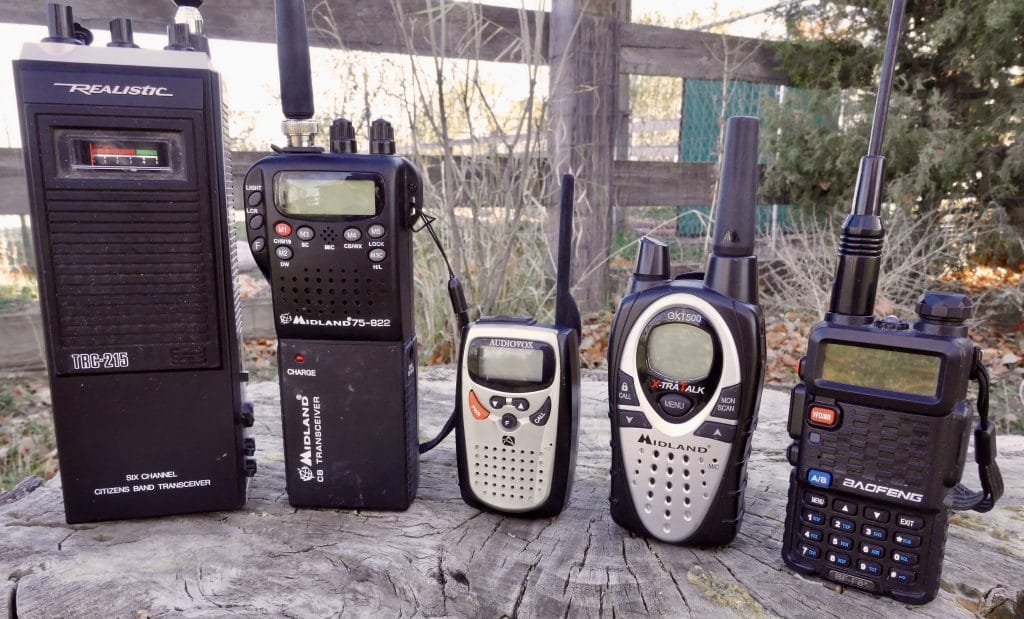 Radios options for the backcountry