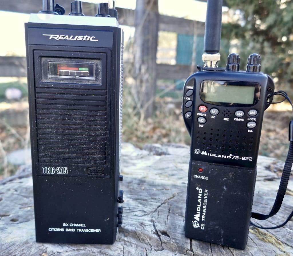 Handheld Citizens Band Radios
