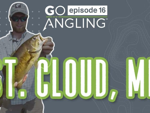 GO Angling: Episode 16 – How to Fish Shallow Rivers for Smallmouth Bass
