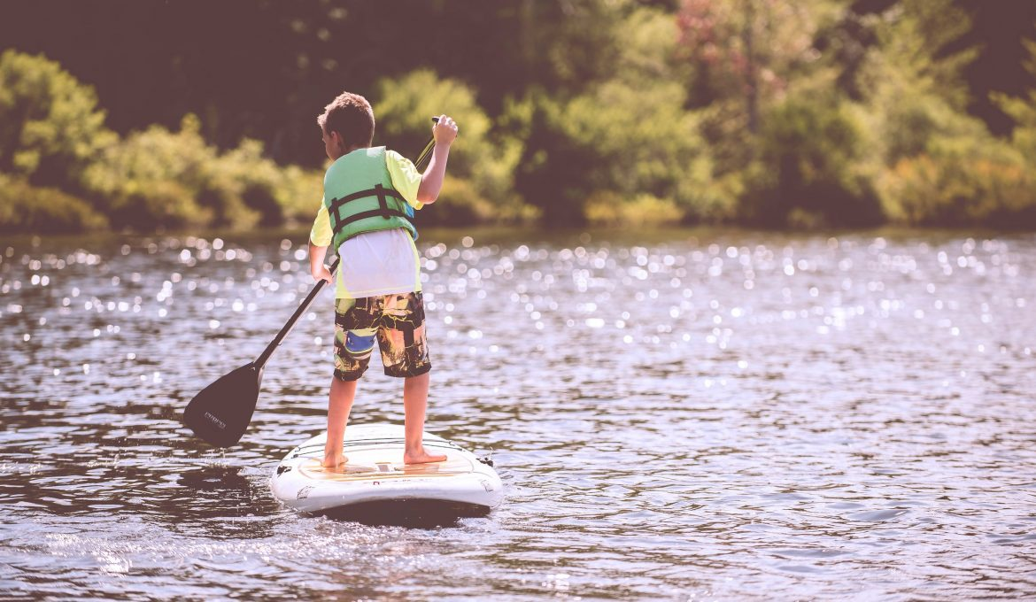 Child on SUP