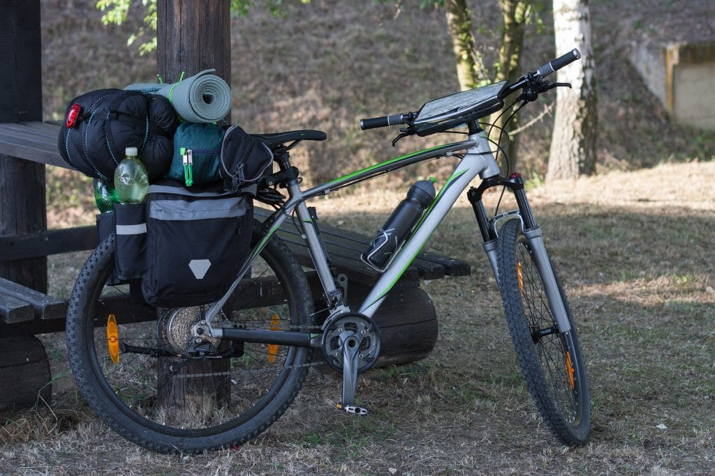Bikepacking Mountain bike
