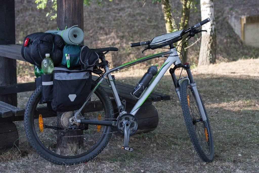 Bikepacking Mountain bike