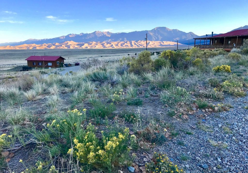 Camping and Sand Sledding at Great Sand Dunes National Park