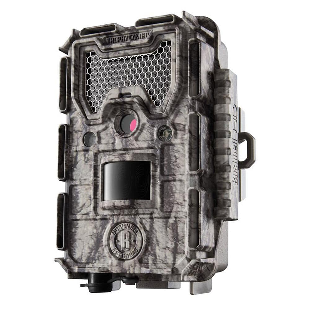 best trail cameras for deer hunting - bushnell trophy cam hd aggressor - PC Camping World