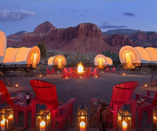Capitol Reef Resort - 10 Amazing Places to Go Glamping in the US
