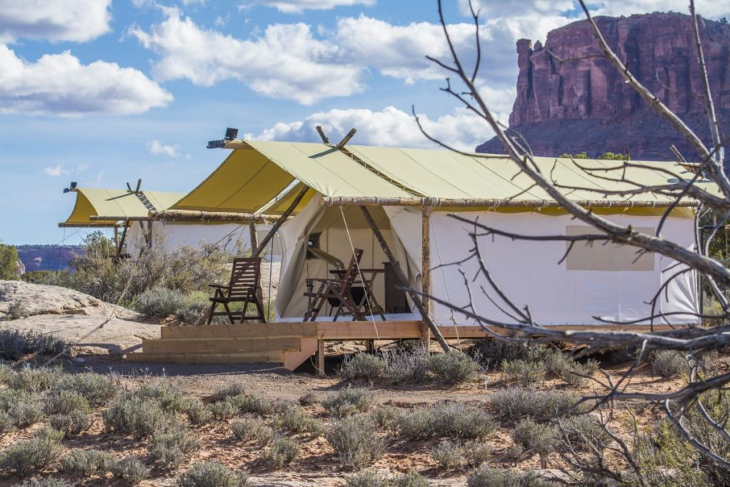 Under Canvas Moab - 10 Amazing Places to Go Glamping in the US