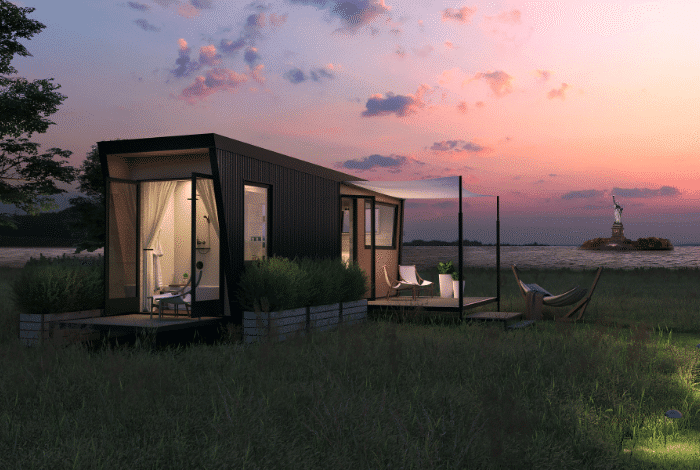 Collective Governor's Island - 10 Amazing Places to Go Glamping in the US
