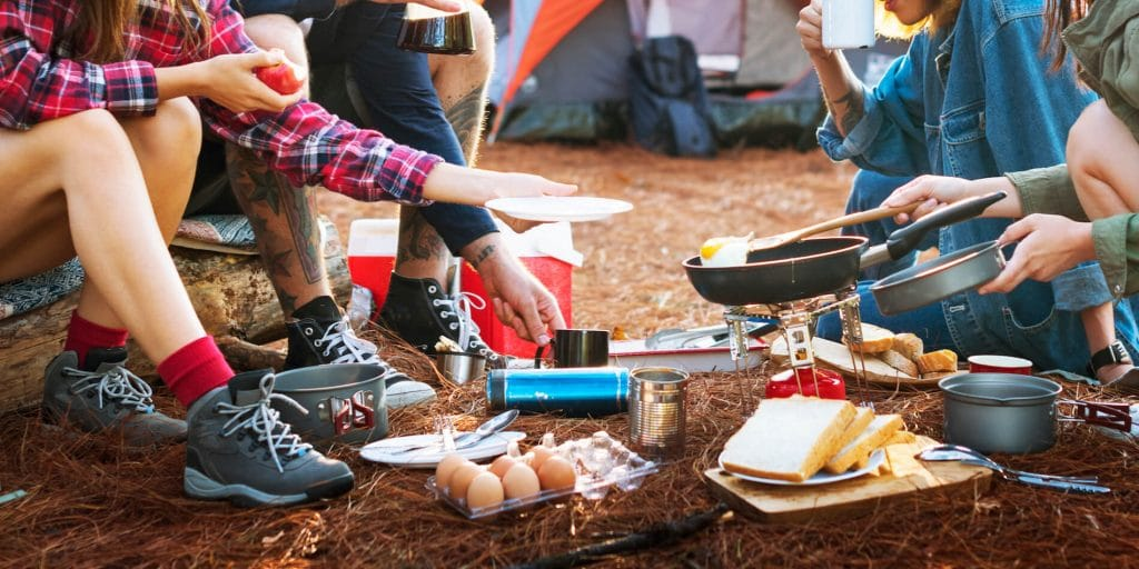 How to budget for food on a car camping trip