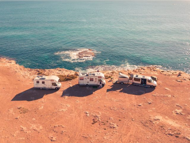 RVing near the sea