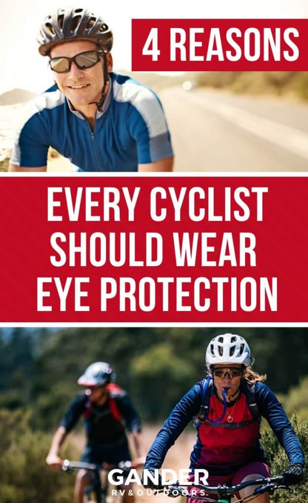 4 reasons every cyclist should wear eye protection