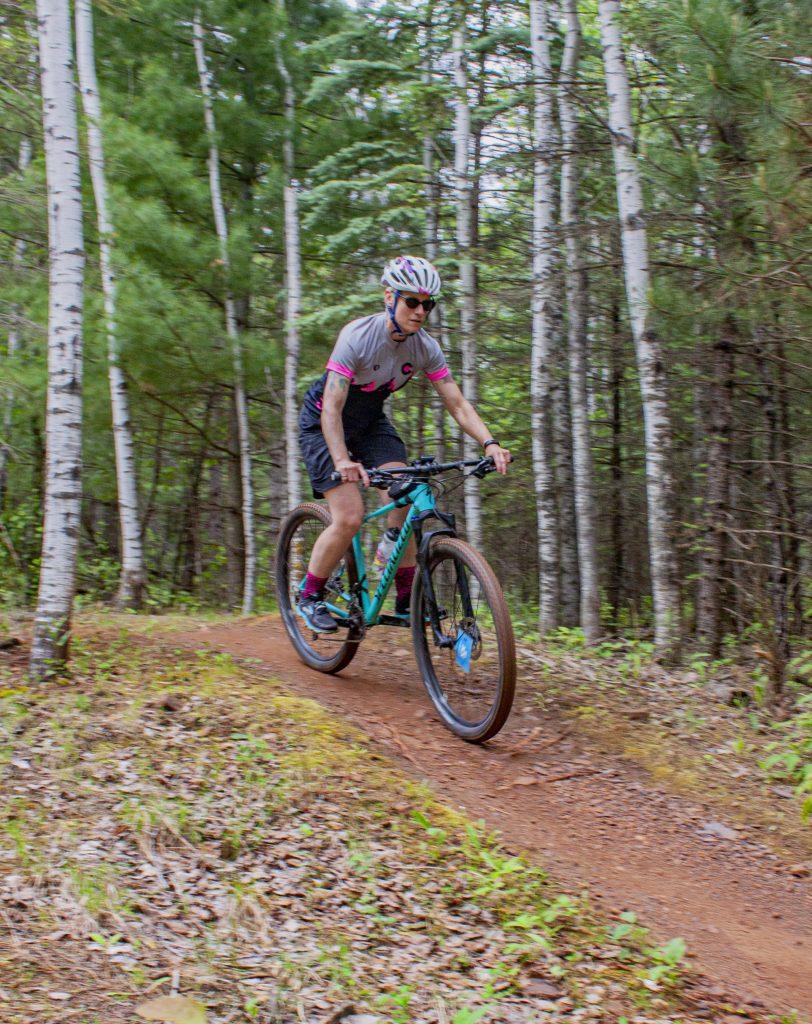 Mountain biking in Ironton