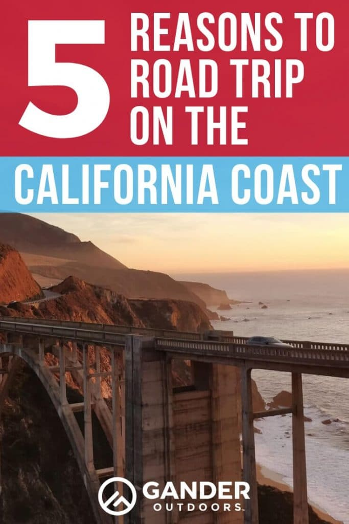 5 reasons to road trip on the california coast