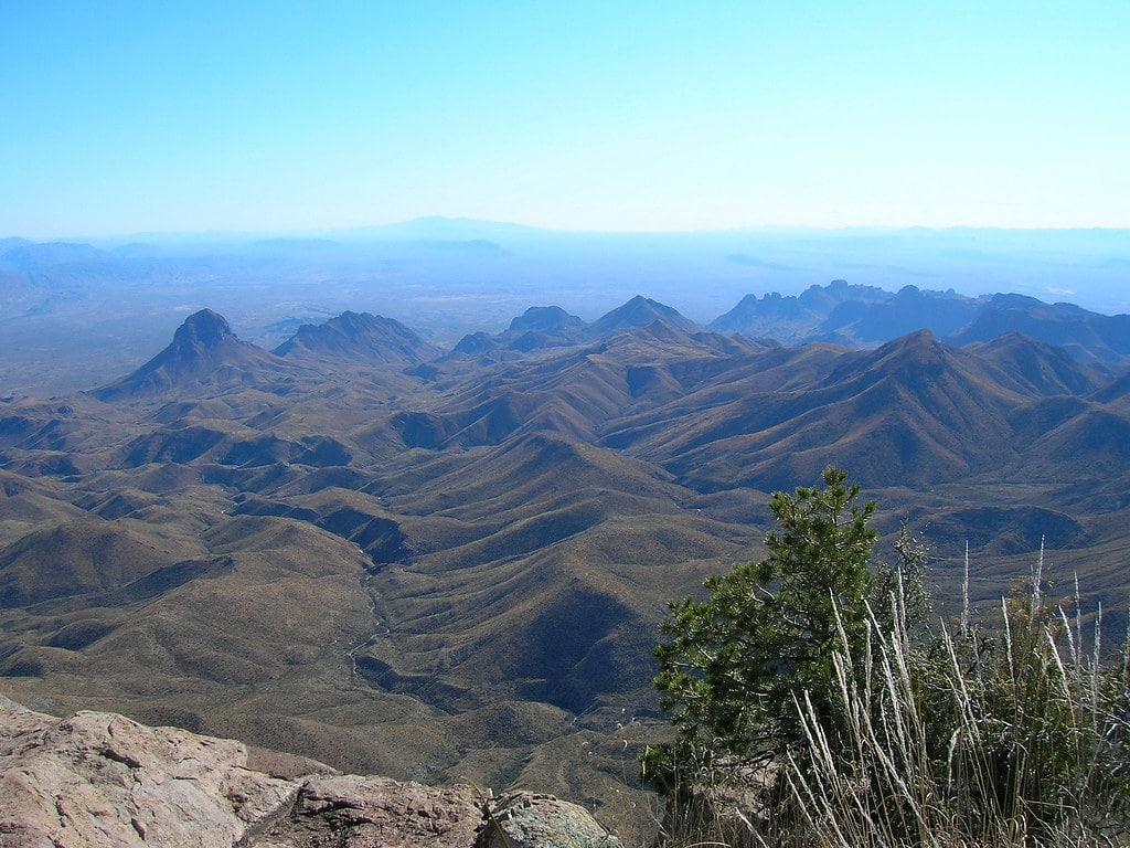 View into the Chihuahuan Desert