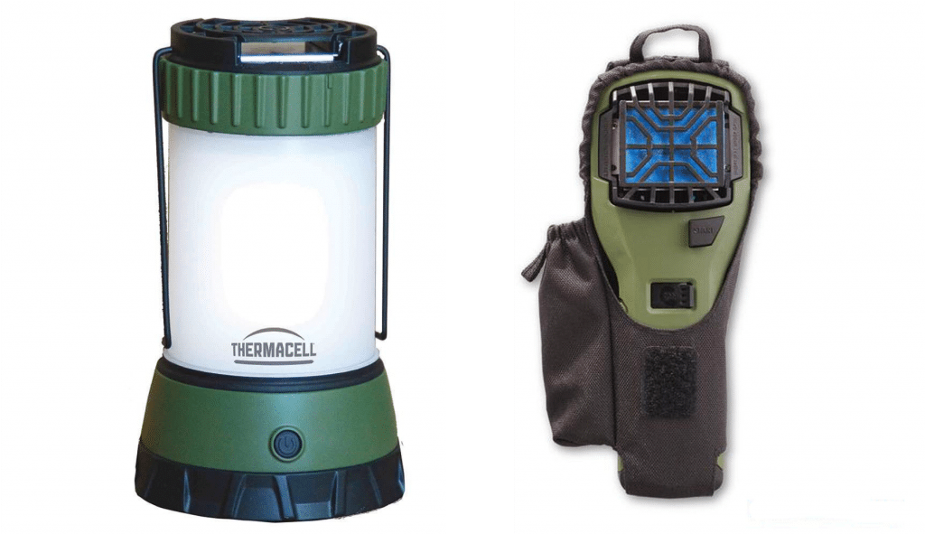 Thermacell makes various portable mosquito repellents