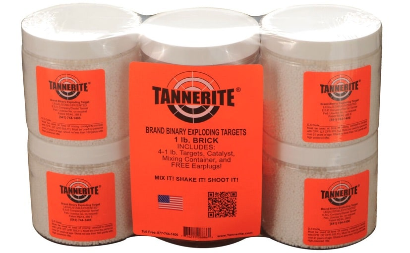 a package of tannerite