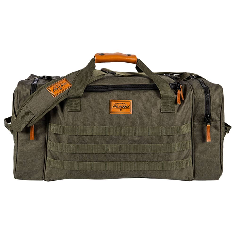Green Plano A-Series duffel bag soft fishing tackle box