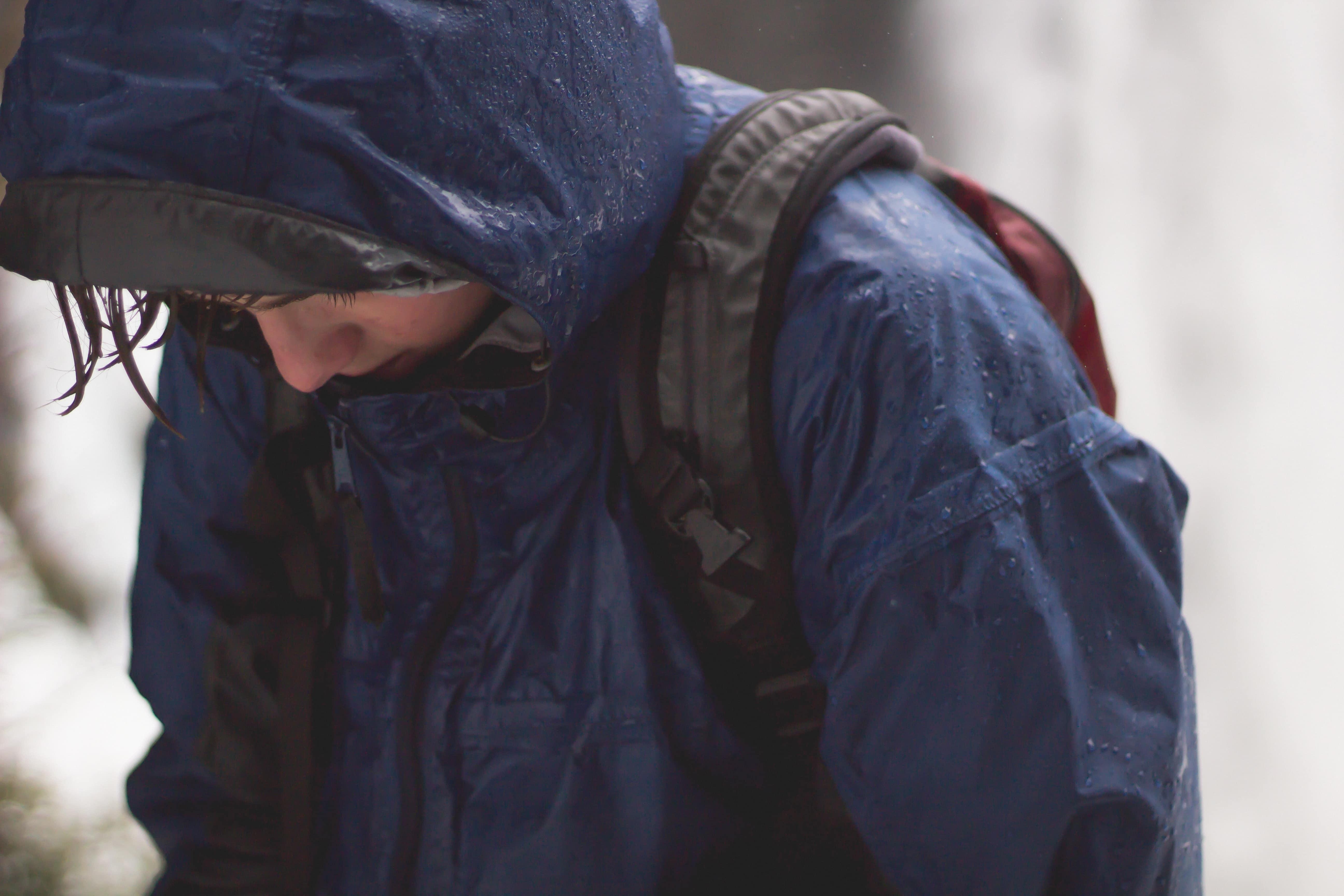 Child in Rain Jacket