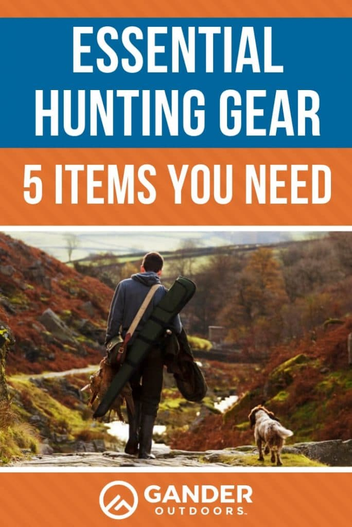 Essential hunting gear - 5 items you need