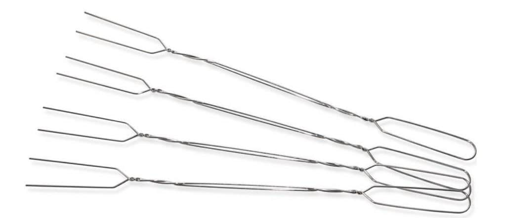 CW Gear toaster Forks Set of 4