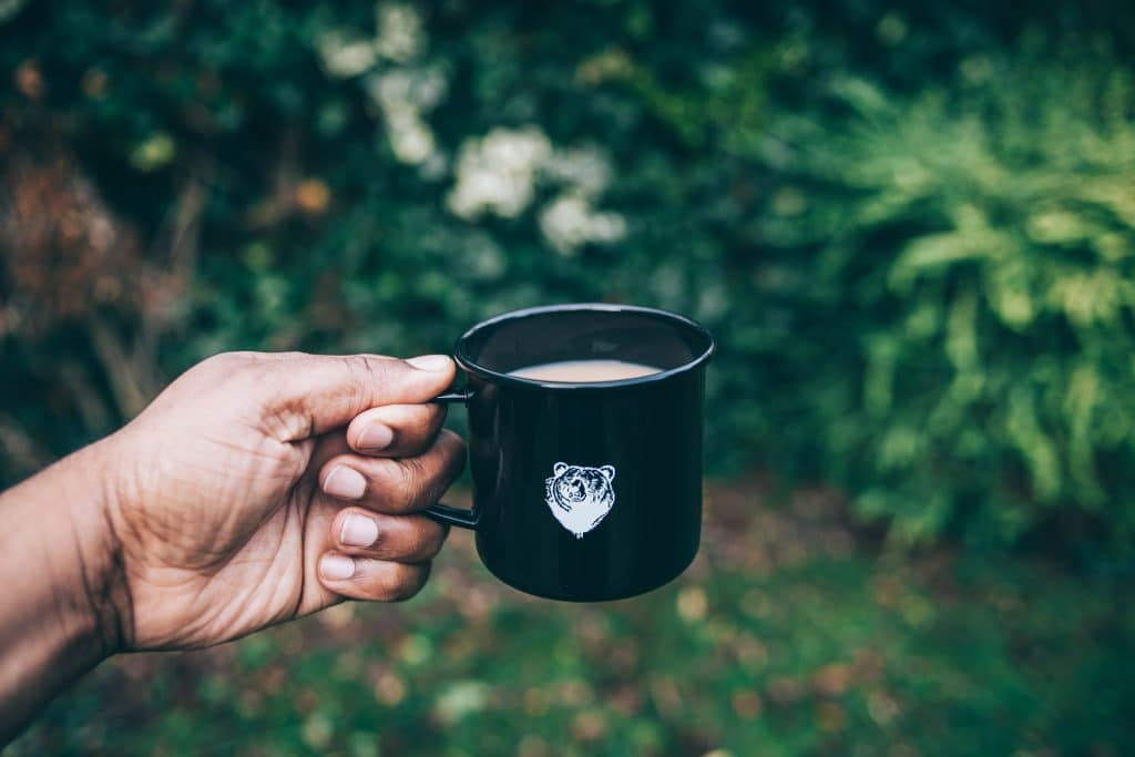 Bear Coffee Mug Outdoors