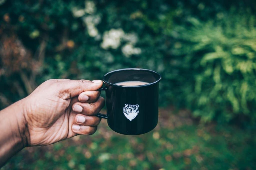 Bear Coffee Mug Outdoors