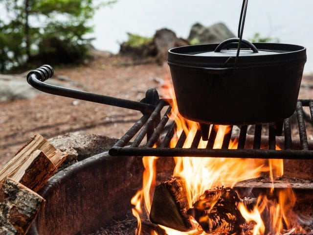 Cooking Over a Campfire? Here's the Cookware You'll Need