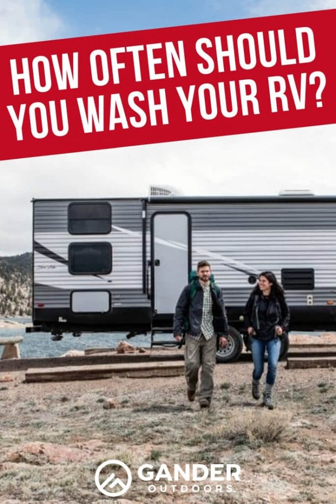 How often should you wash your RV?