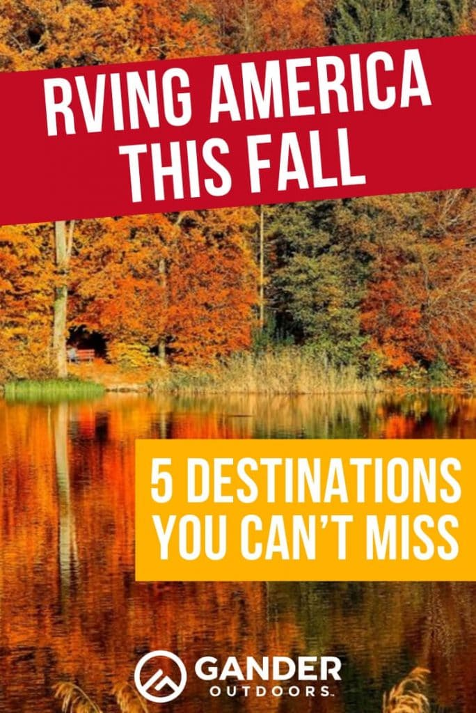 5 fall destinations you can't miss