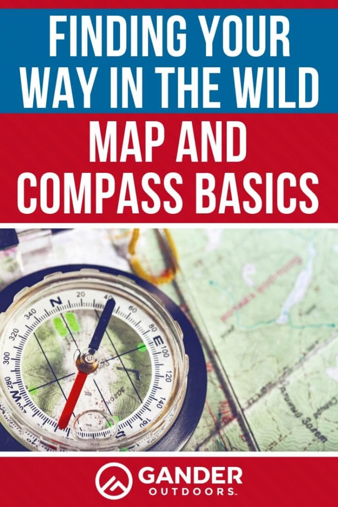 Finding your way in the wild - map and compass basics