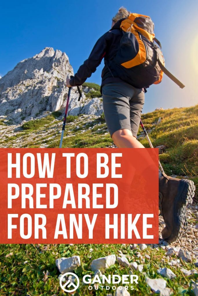 How to be prepared for any hike