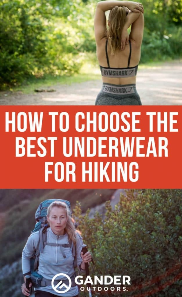 How to choose the best underwear for hiking