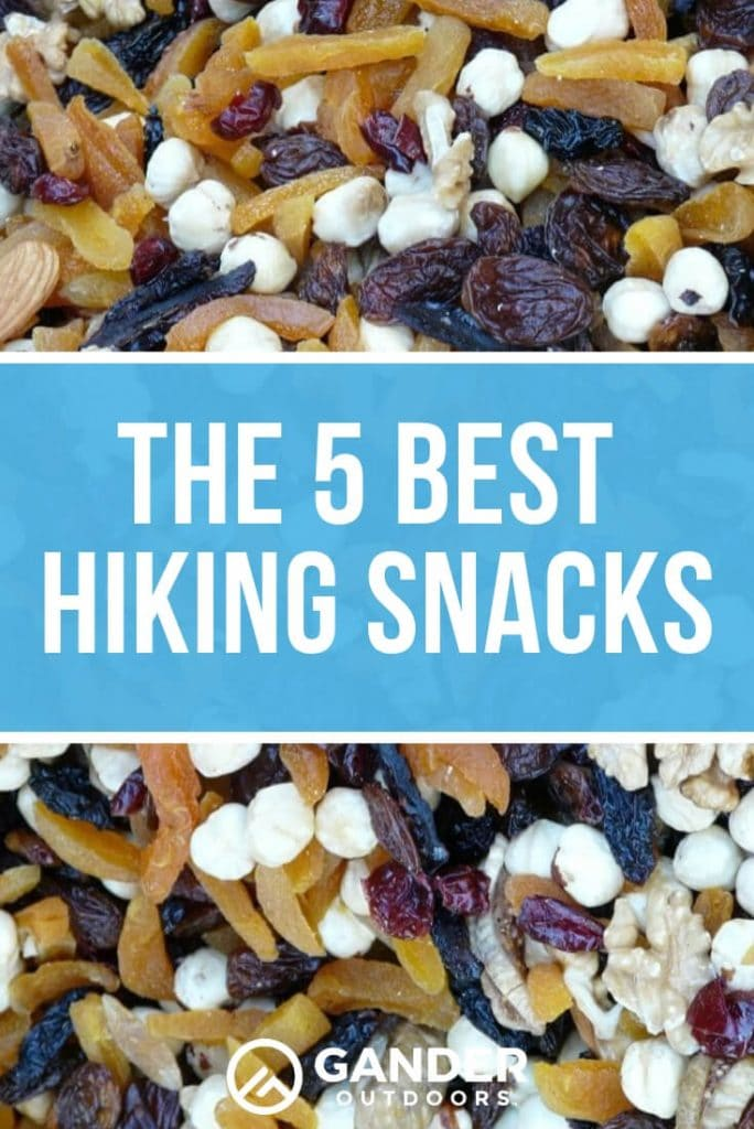 The five best hiking snacks