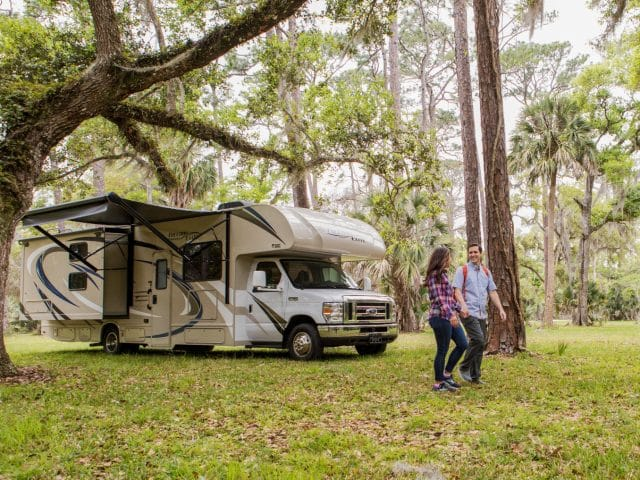 How to Keep Your Cool Without Consistently Running Your AC in Your RV