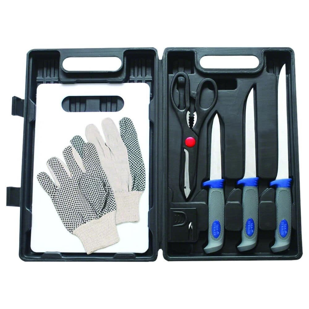 Sea Striker 8-Piece Fillet Knife Kit with Case