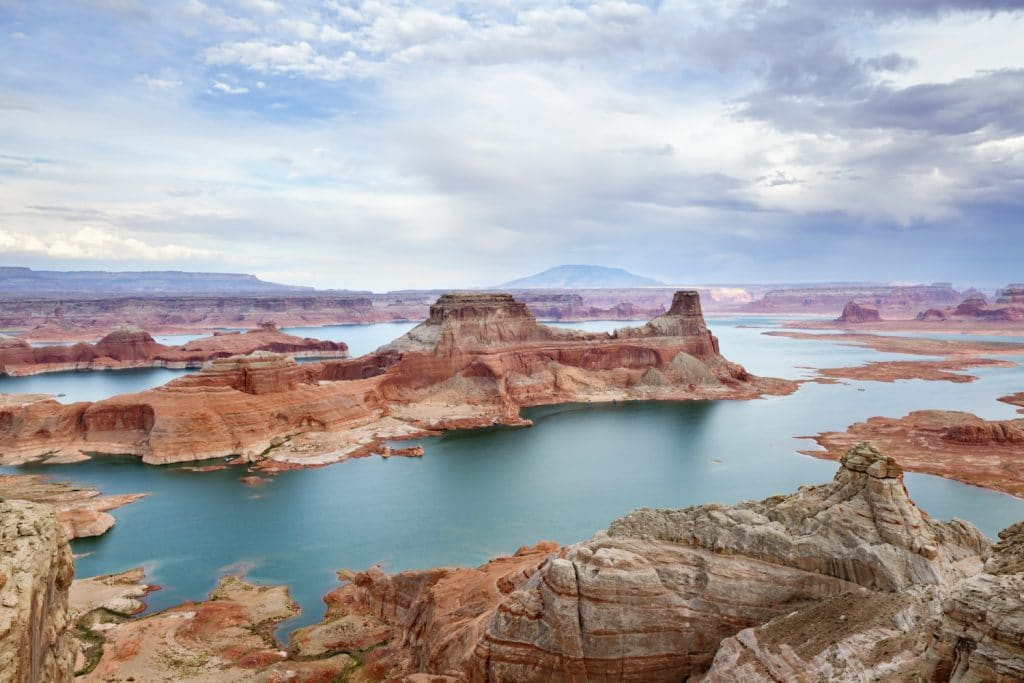 Alstrom Point at Lake Powell, Glen Canyon National Recreation Area