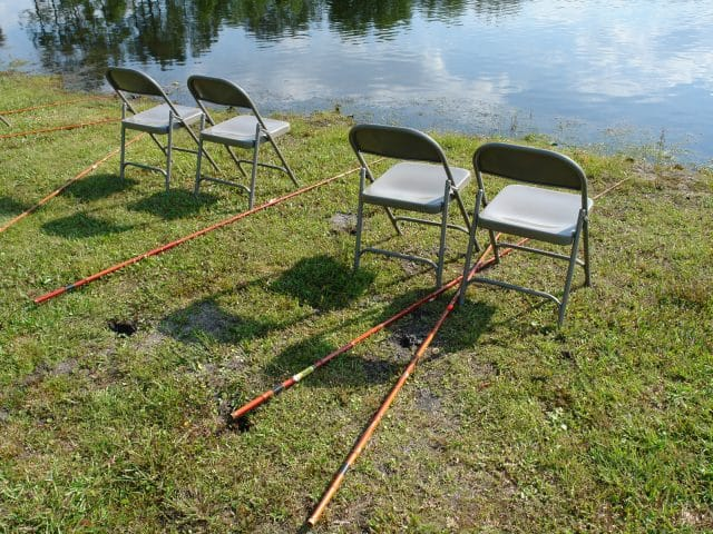 Fishing With Cane Poles