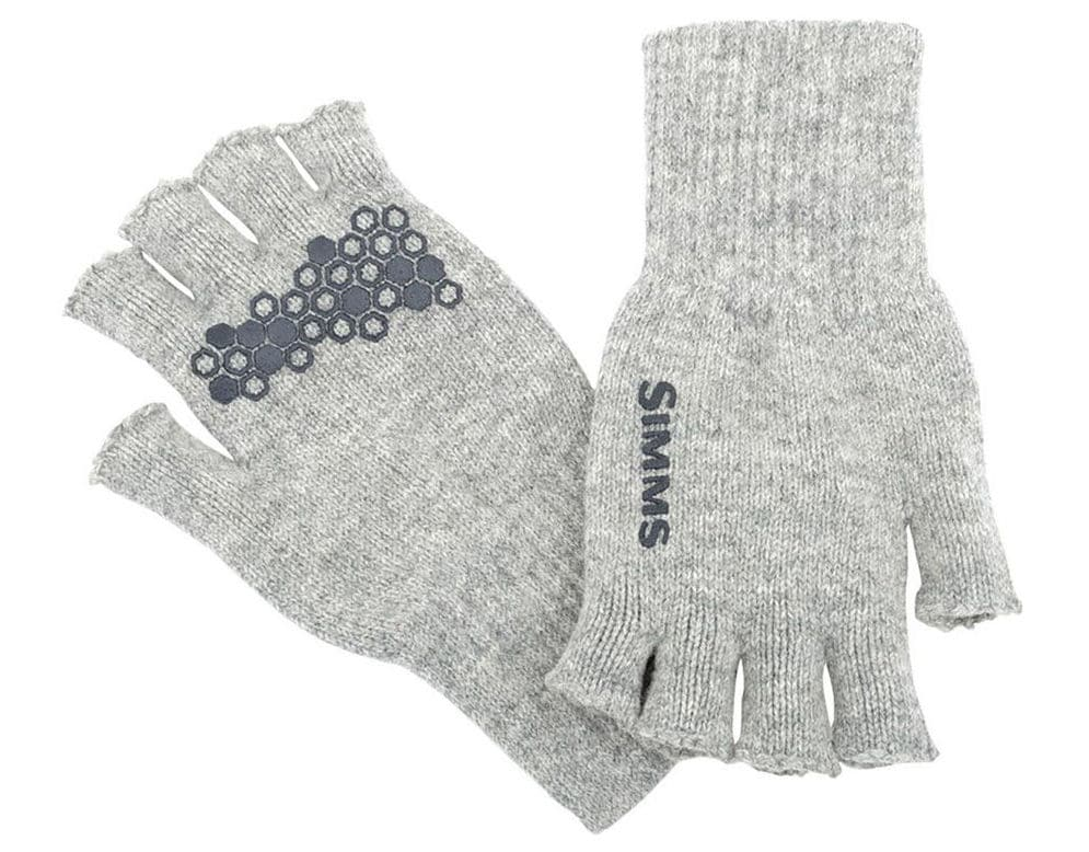Simms fingerless fly fishing gloves