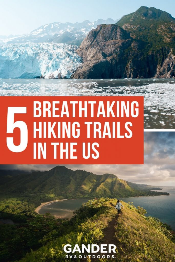 5 breathtaking hiking trails in the US