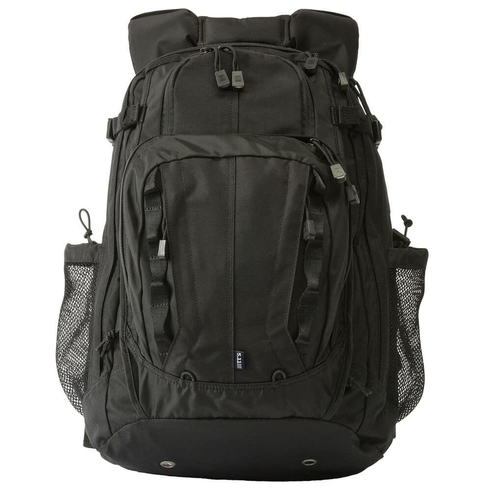 black tactical backpack