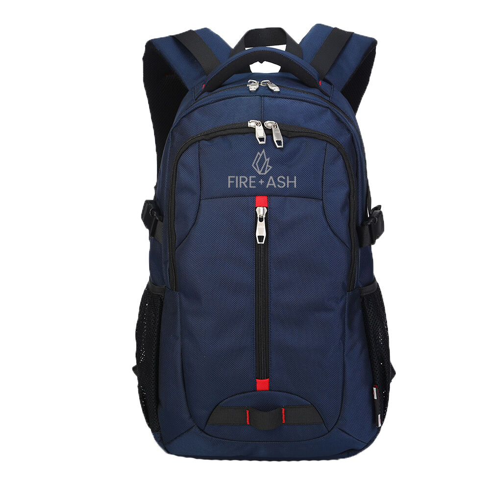 dark blue laptop backpack