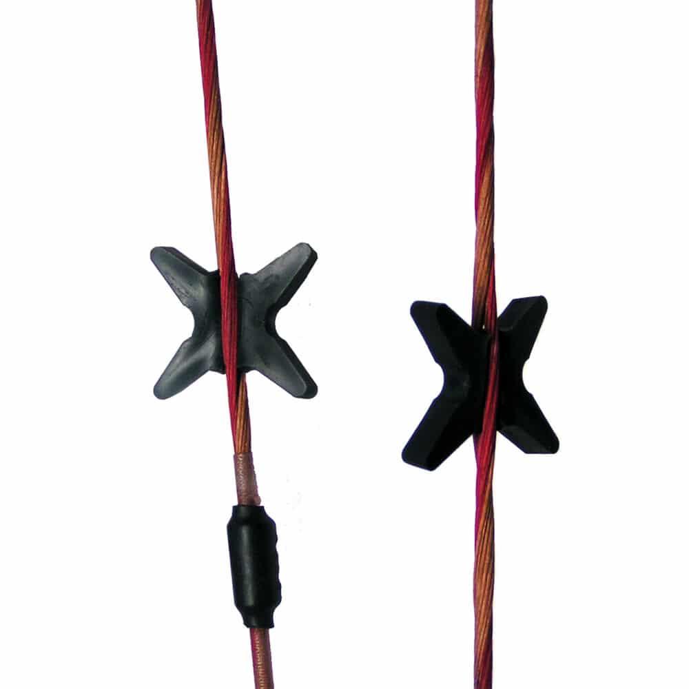 Bow string silencer