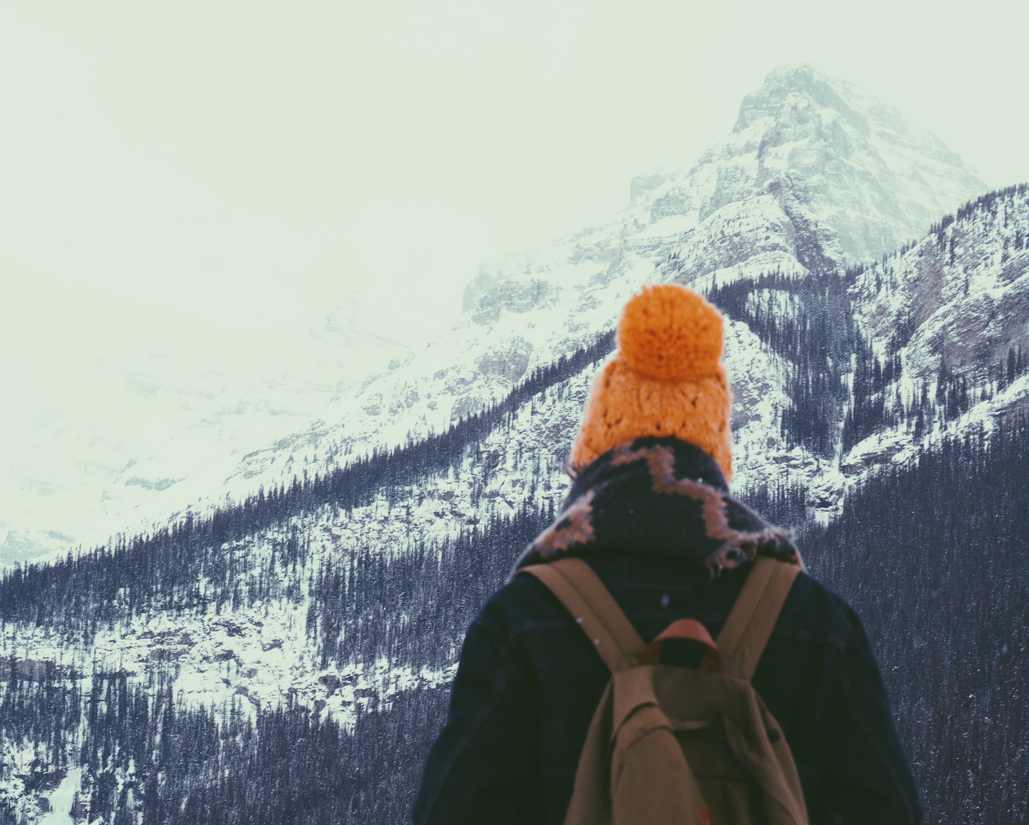 The Best Winter Hats for Hiking Featured Image - Photo by Ezra Jeffrey-Comeau on Unsplash